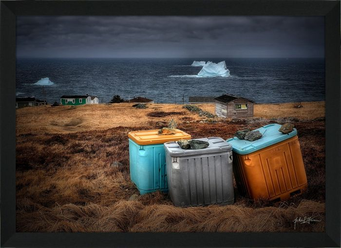 Three Fish Bins Icebergs 2