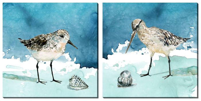 Shore Birds Set of 2