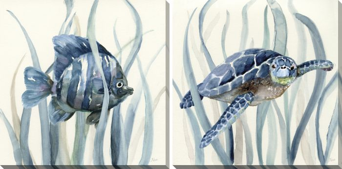 In the Seagrass Set of 2