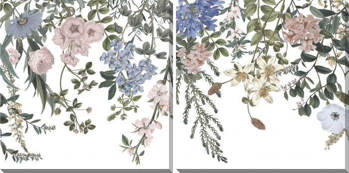 Hanging Florals Set of 2