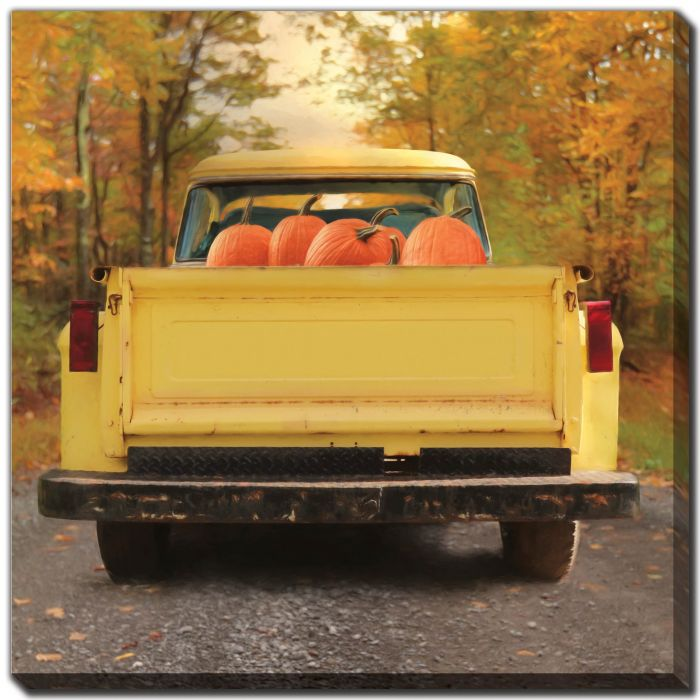 Yellow Pumpkin Hauler