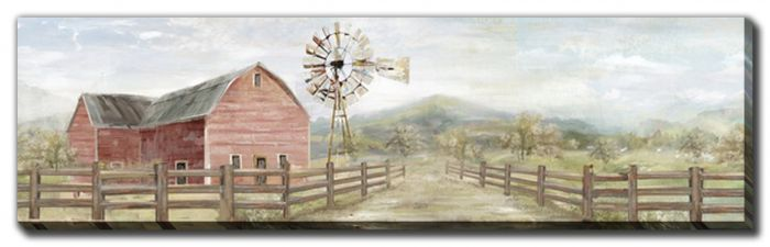 Windmill and Farmhouse