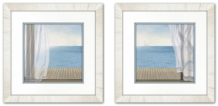 Blue Breeze I & II Set of 2