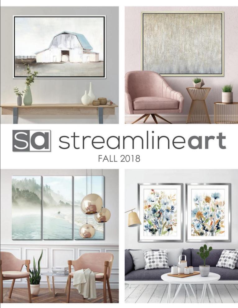 Streamline Fall Catalogue 2018
